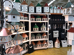 Birdhouses from A and J Designs